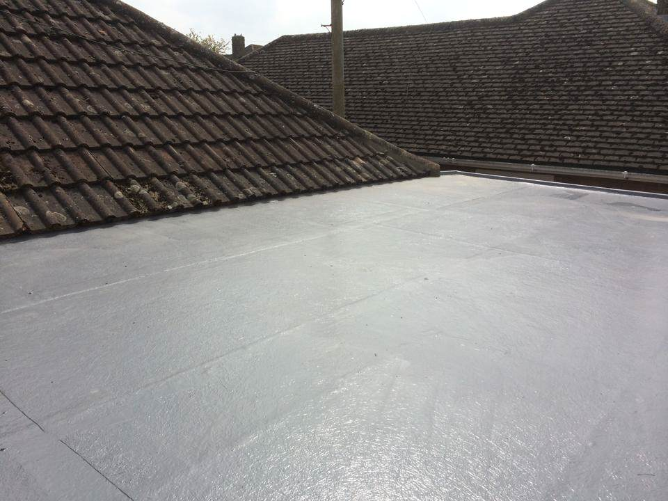 Crystic Fibreglass Roof