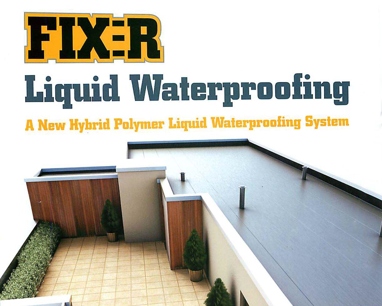 Fix-R Liquid Waterproofing